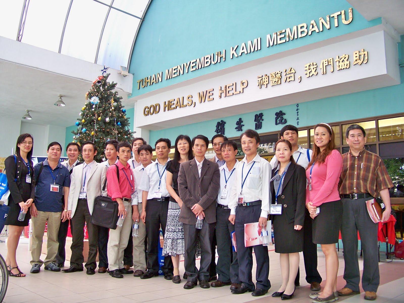 Vietnam Hospital Administrators Explore Penang Adventist Hospital