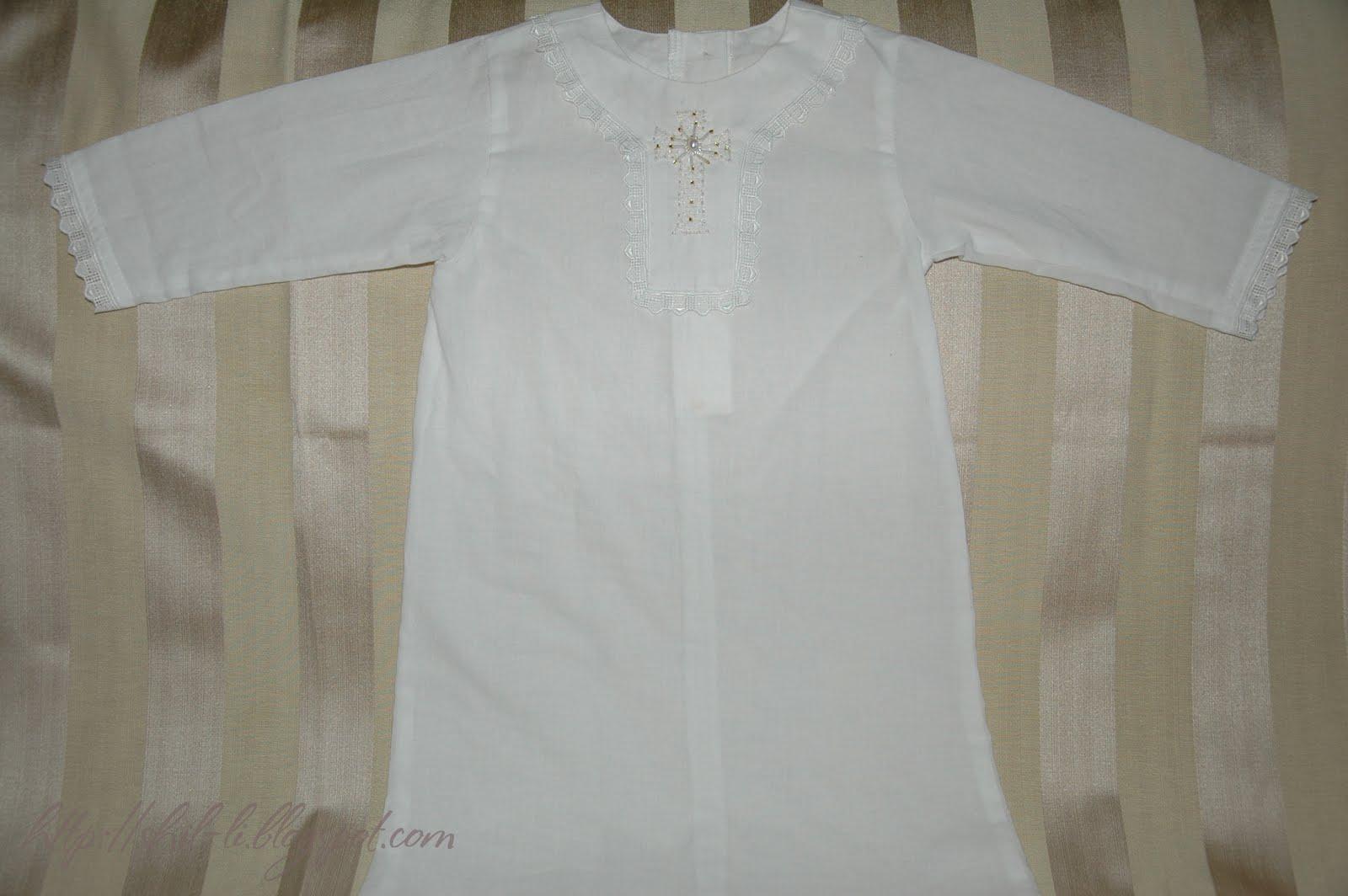 Шьем крестильную рубашку с кружевными вставками Ярмарка Мастеров 97