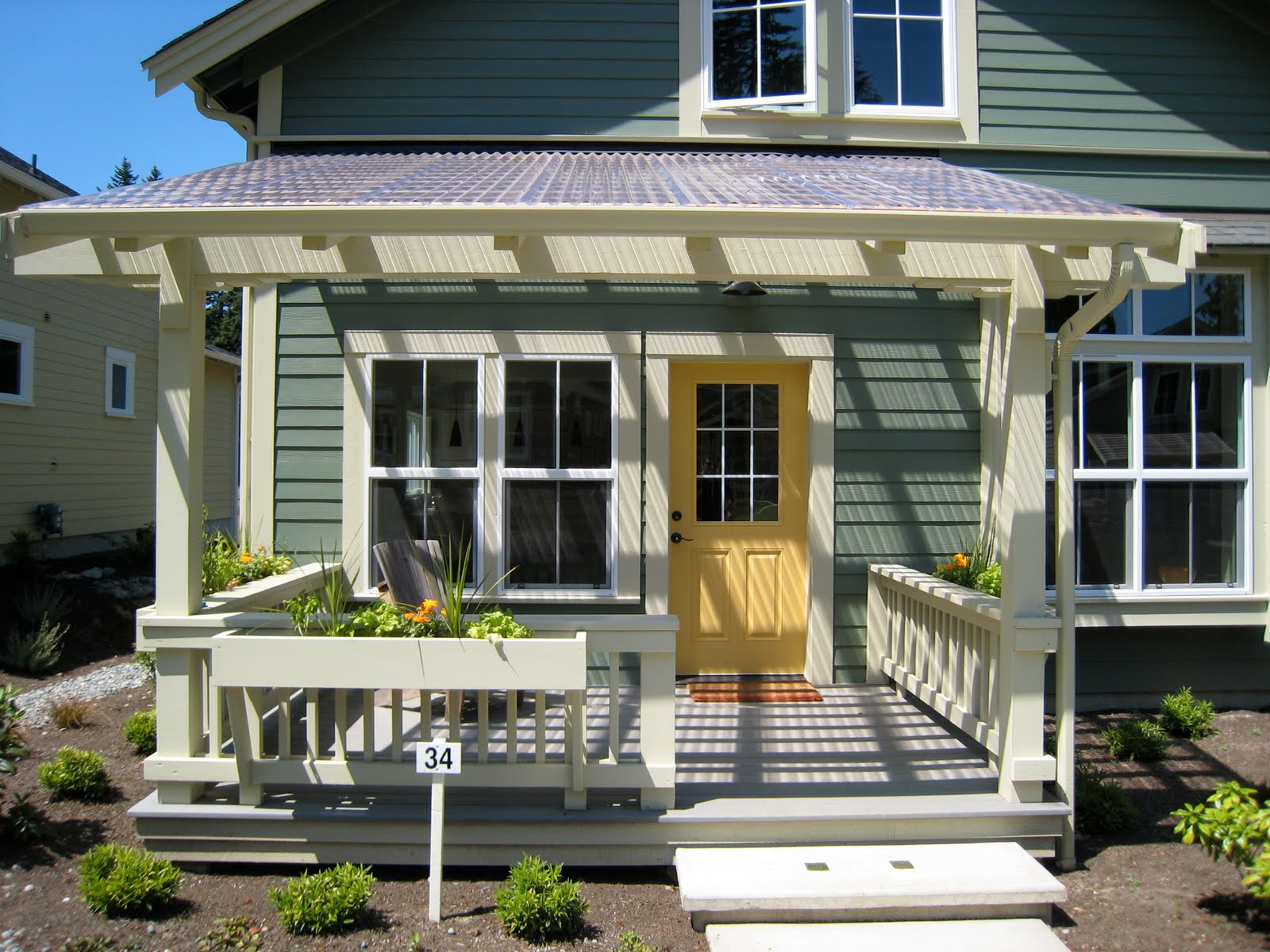 Details of home front porch inspiration ross chapin for House porch