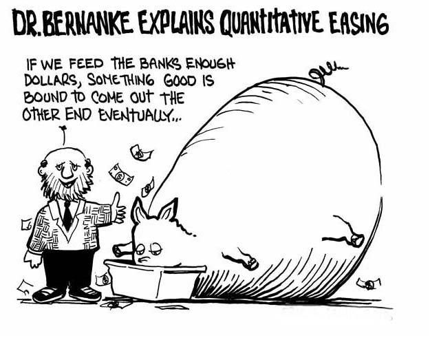 Quantitative Easing Is Merely A Euphemism For The Printing Of Money