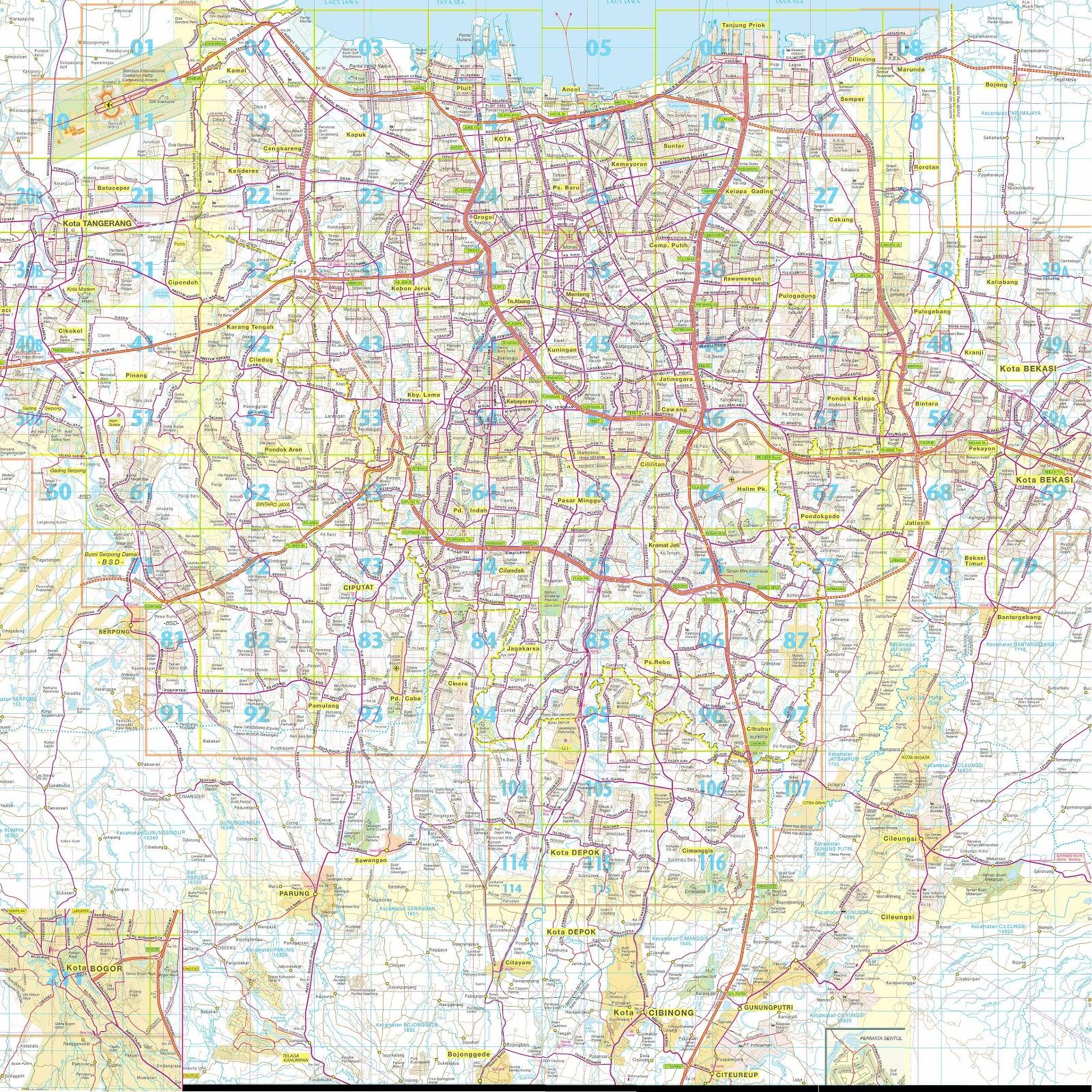 Jakarta On Map