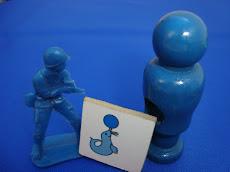 Mis primeros azules, encontrados por ellos...(07 y 08)