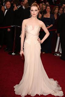 Oscar Evan Rachel Wood+Elie+Saab Nude!