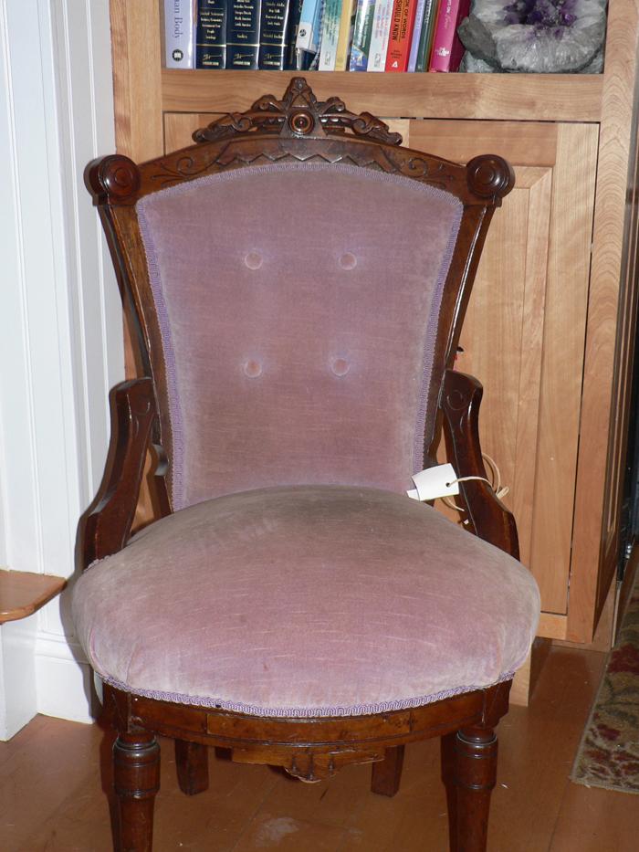 - Ladies Eastlake Chair Redo
