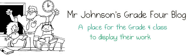 Mr Johnson's Grade Four Blog