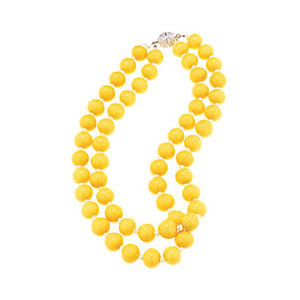 Yellow+Necklace