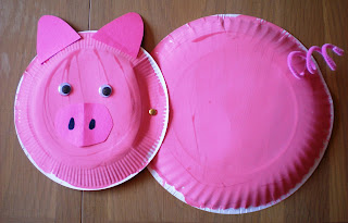 Perky Pink Pig : paper plate pigs - Pezcame.Com