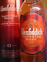 glenfiddich 12 years old toasted oak