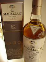macallan 10 years old 'fine oak'