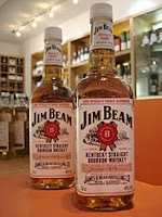 jim beam white label bottles