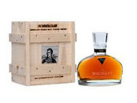 macallan burn celebratory bottle and casket