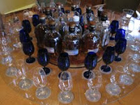 the glenrothes revolving tasting table