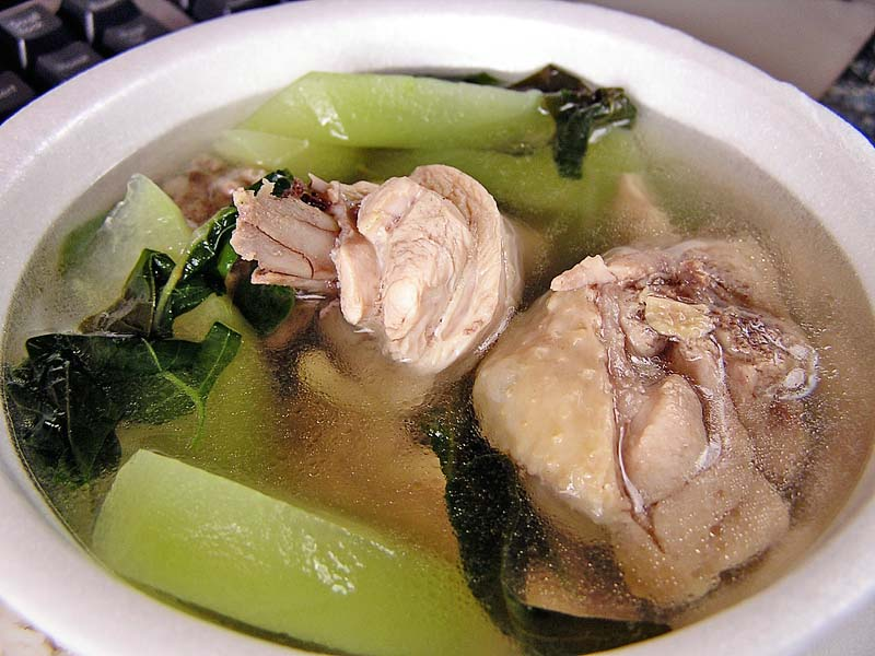 how to cook tinolang manok ingredients