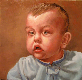 Daily Oil Painting, Portrait, Landon