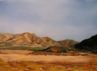 Daily Oil Painting, Landscape, Nebraska
