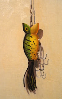 Daily Oil Painting, Hula Popper, Still Life