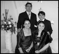 Eu e minha familia abençoada...