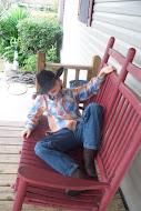 Our cowboy