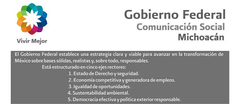 COMUNICACION GOBIERNO FEDERAL MICHOACAN