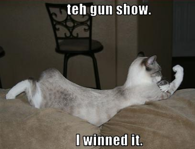 The P90X Beachbody Insanity Coach GUN SHOW... I winned it. Today and everyday!