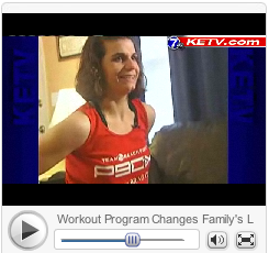 She beat MS with P90X you can get in shape, too!