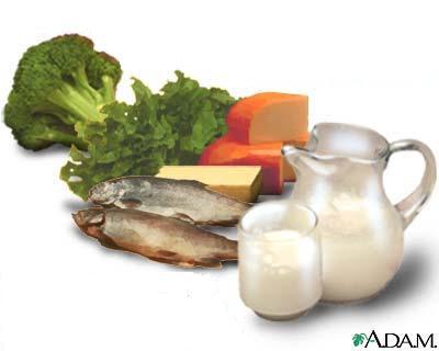 La dieta diaria de conchi el calcio - Alimentos para la osteoporosis ...