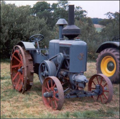 Tractores antiguos soci t fran aise de vierzon tractores - Aperos agricolas antiguos ...