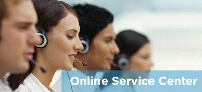 Online service center