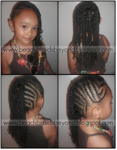 Black Girl Braided Hairstyles Twist for Kids