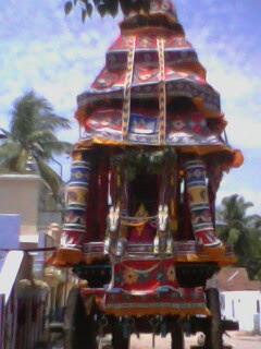 big car for Lord Mathusoothana perumal