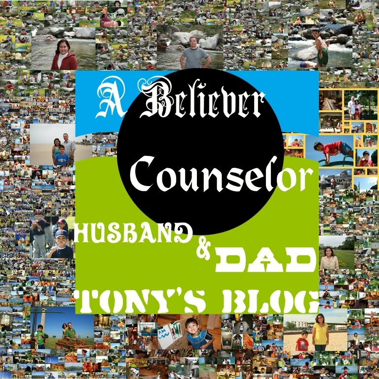 A Believer, Counselor, Husband & Dad's Blog