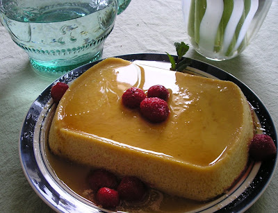 Maple Flan or Creme Caramel