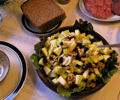 Gingered Apple Salad