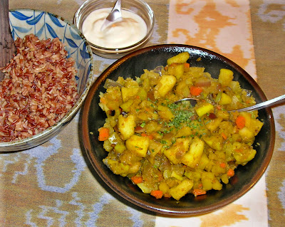 Rutabaga and Apple Curry