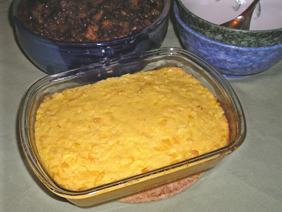 Corn Pudding or Bread