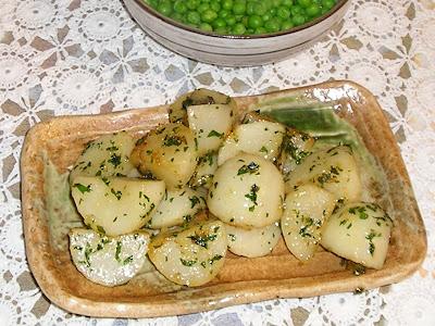 Mint Glazed Turnips