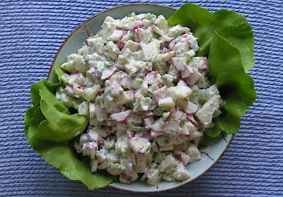 Radish & Potato Salad