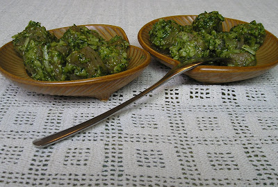 Basic Basil Pesto made with sunflower seeds