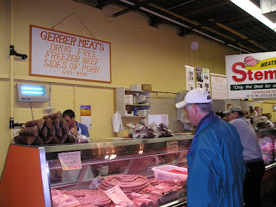 Gerber and Stemmler Meats at Waterloo Farmers Market (St. Jacobs)