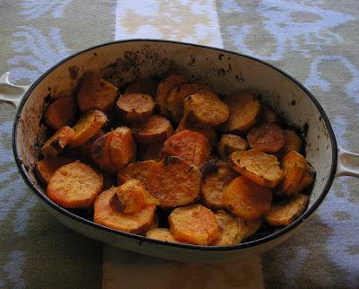 Lemon-Ginger Sweet Potatoes