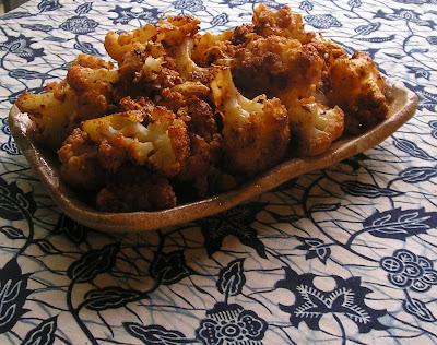 Paprika Sauteed Cauliflower