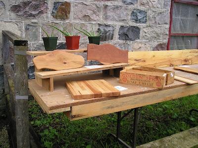 Holstein Farmers Market Wooden Cutting Boards
