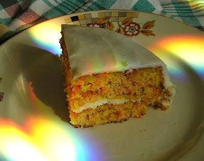 English Carrot-Almond Cake