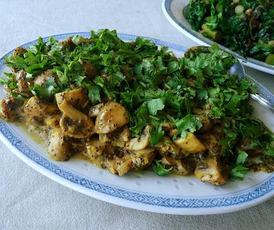Indian Style Mushrooms
