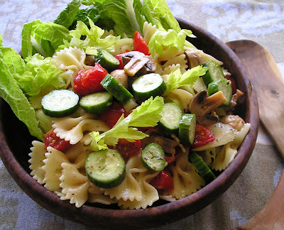 Pasta Salad with Marinated Vegetables