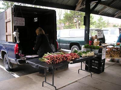 Owen Sound Farmers Market Local Rhubarb