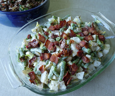 Bean Bacon and Potato Salad