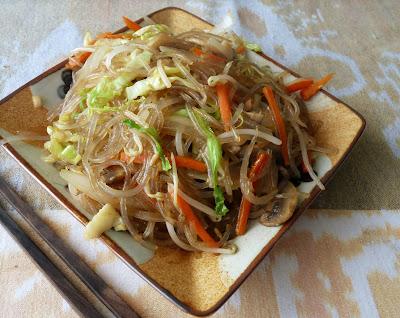 Jap Chae; Korean Glass Noodles