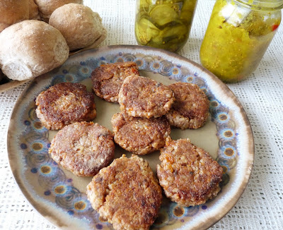 Bean and Barley Burgers
