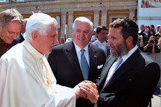 Shmuley and the Pope make nice